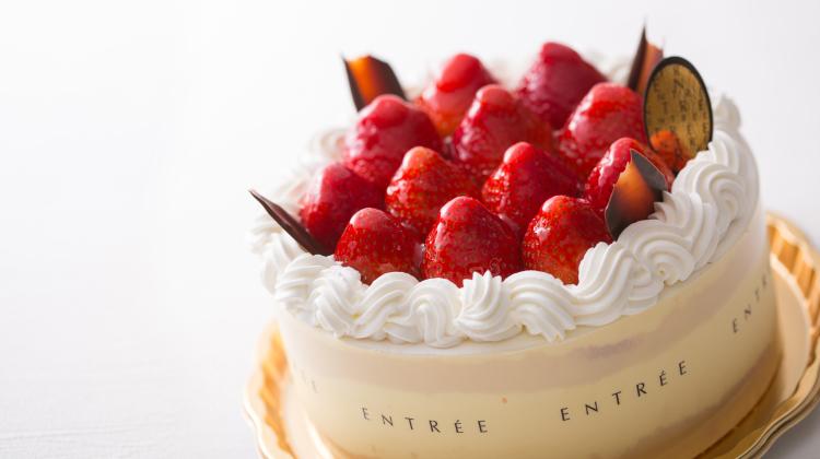 苺の生デコレーションケーキ6号